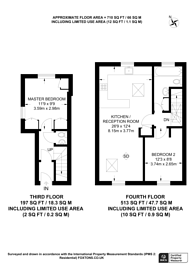 Large floorplan for St Stephens Gardens, Westbourne Green, W2