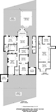Large floorplan for Ash Ride, Crews Hill, EN2
