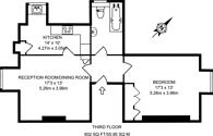 Large floorplan for Grove Park Road, Grove Park, W4