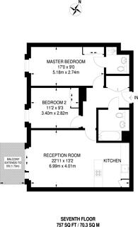 Large floorplan for Celestial House, Poplar, E14