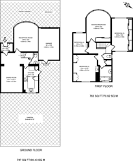 Large floorplan for South Lodge Drive, Oakwood, N14
