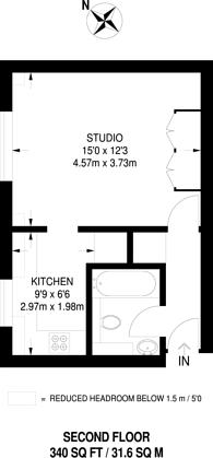 Large floorplan for Abbeyfields Close, West Twyford, NW10