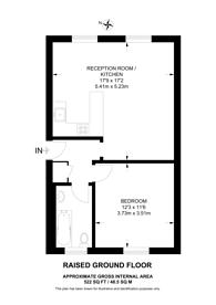 Large floorplan for Barnsbury Terrace, Islington, N1