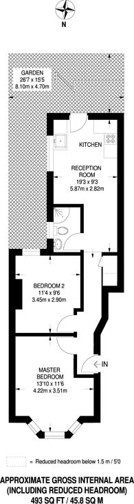 Large floorplan for Chesterton Terrace, Plaistow, E13