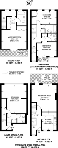 Large floorplan for Brightlingsea Place, Limehouse, E14