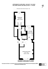 Large floorplan for Westbourne Gardens, Westbourne Park, W2