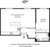 Large floorplan for Shepherdess Place, Islington, N1