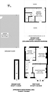 Large floorplan for Somerset Road, Harrow, HA1