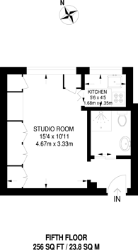 Large floorplan for Balham High Road, Balham, SW17