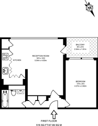 Large floorplan for Swanscombe House, Notting Hill, W11
