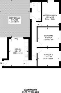 Large floorplan for Peckham High Street, Peckham, SE15