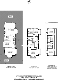 Large floorplan for Ludlow House, Hampton Wick, KT1