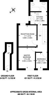 Large floorplan for High Road Leytonstone, Leytonstone, E11