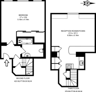 Large floorplan for Craven Gardens, Wimbledon, SW19