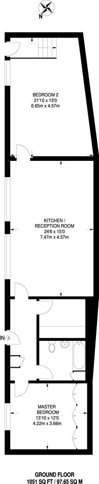 Large floorplan for Green Dragon Yard, Spitalfields, E1
