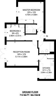 Large floorplan for Village Park Close, Enfield, Enfield, EN1