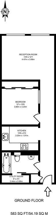 Large floorplan for Clipstone Street, Fitzrovia, W1W