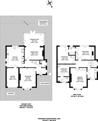Large floorplan for Marchmont Road, Richmond Hill, TW10