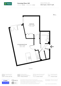 Large floorplan for Ryan House, Harrow, HA1