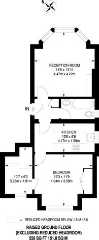 Large floorplan for Trouville Road, Abbeville Village, SW4