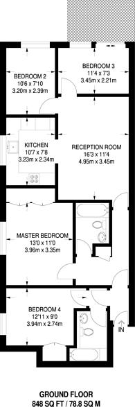 Large floorplan for St John's Wood, St John's Wood, NW8