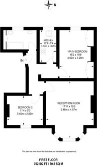 Large floorplan for Gipsy Hill, Gipsy Hill, SE19