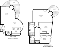 Large floorplan for Firecrest Drive, Hampstead, NW3