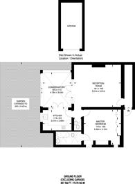 Large floorplan for Langside Avenue, Putney, SW15