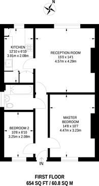 Large floorplan for Elmwood Road, Croydon, CR0