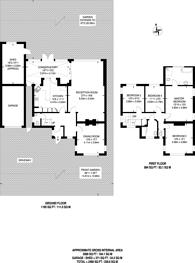 Large floorplan for Oakwood Avenue, Beckenham, BR3