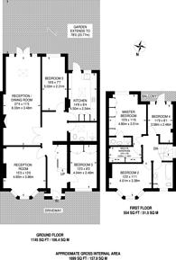 Large floorplan for Popes Lane, Ealing, W5