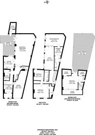 Large floorplan for Bolton Road, Harlesden, NW10
