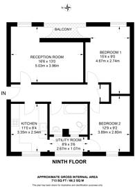 Large floorplan for Hampstead Road, Euston, NW1