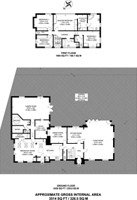 Large floorplan for Shirley Hills Road, Croydon, CR0