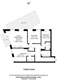 Large floorplan for Camden Road, Camden, NW1