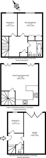 Large floorplan for Maple Mews, Maida Vale, NW6