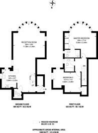 Large floorplan for Denbridge Road, Bickley, BR1