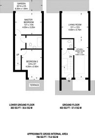 Large floorplan for King's Cross, King's Cross, WC1X