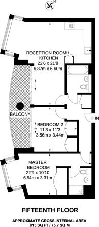 Large floorplan for Altyre Road, Croydon, CR0