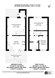 Large floorplan for Salmen Road, Plaistow, E13