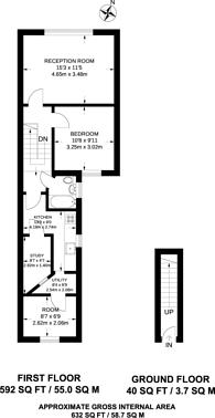 Large floorplan for Heyworth Road, Stratford, E15