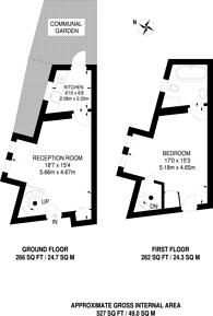 Large floorplan for Garrick Road, Hendon, NW9
