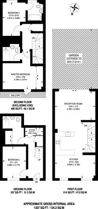 Large floorplan for Blackheath Quarter, Kidbrooke, SE3