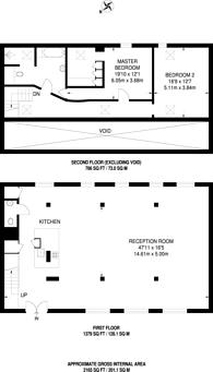 Large floorplan for Mount Pleasant Hill, Clapton, E5