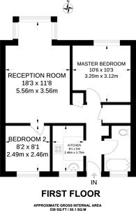 Large floorplan for Church Hill, Walthamstow, E17