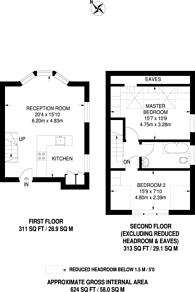 Large floorplan for Donaldson road, Queen's Park, NW6