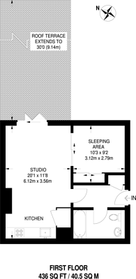 Large floorplan for Newman Street, Fitzrovia, W1T