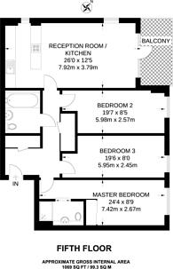 Large floorplan for Norman Road, Greenwich, SE10