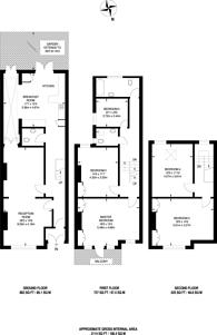 Large floorplan for Sternhold Avenue, Streatham Hill, SW2