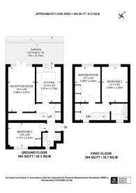 Large floorplan for Swain Street, St John's Wood, NW8